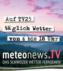 meteonews.TV auf TV25