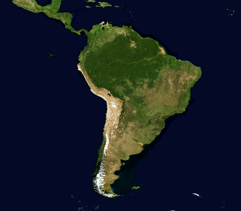 map Southamerica