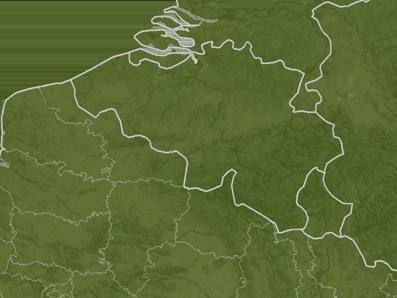 Karte Belgien/Luxemburg