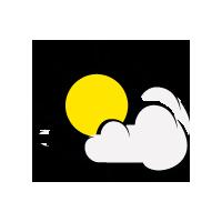 schön mit Schleierwolken